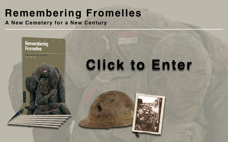 Remembering Fromelles - Click Image To Enter